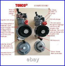 173F for pump engine GX240 dual fuel carburetor TONCO propane conversion kit