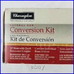 653 202 Open Box Charmglow Propane to Natural Gas Conversion Kit with Hose