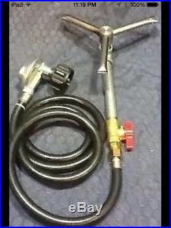 9 Propane Fire Pit Conversion Kit ring Burner