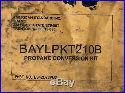 American Standard BAYLPKT210B Propane Conversion Kit B342O28P02