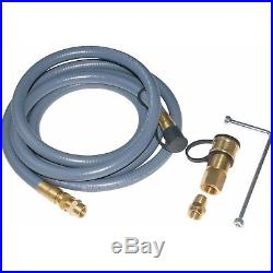 Backyard Grill VersiFuel Gas NG Propane Conversion Kit Natural Npt Brass Adapter