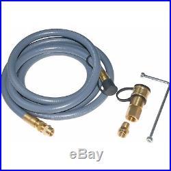 Backyard Grill VersiFuel NG Propane Conversion Kit Brass Connector Natural Gas