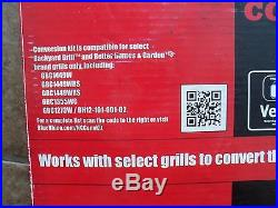 Backyard Grill VersiFuel Propane to natural gas Conversion Kit