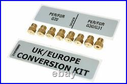 Belling Kensington 90 DFT LPG Propane Butane Conversion Kit 012860220