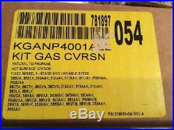 Carrier Natural To Propane Lp Conversion Kit OEM KGANP4001ALL