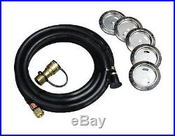 Char-Broil Kitchen Natural Gas and Propane Conversion Kit Tanks and Accessories