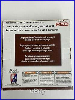 Char-Broil RED Series OEM Propane to Natural Gas Conversion Kit Open Box