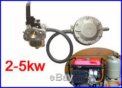 Conversion Kit for 2-5KW Portable Generator to use Propane LPG CNG Gas hot sale