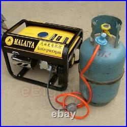 Conversion Kits for 2-5KW Petrol Generators to Use Methane CNG/Propane LPG Gas