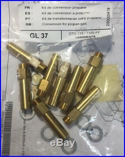 De Dietrich 100000475 Kit de conversion propane GL37 DTG 130 / 1300 FF