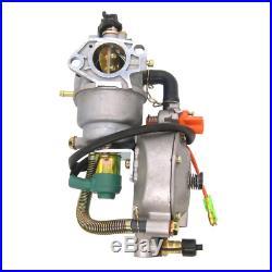 Dual Fuel Carburetor With Manual Choke LPG NG Propane CONVERSION KIT For GX390