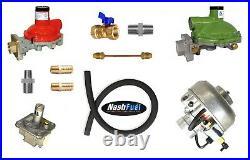 Dual Fuel Propane Conversion 100HP Ford 4.9L 300 LPG Generator 2-1/4 Stationary