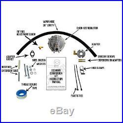 DuroMax XP4400E Natural Gas / Propane Conversion Kit