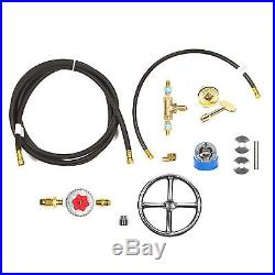 FR6CK+ 6 FIRE RING COMPLETE DELUXE PROPANE FIRE PIT CONVERSION KIT Key Valve