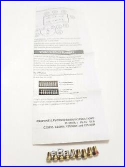 GE Cafe LP Propane Conversion Kit Models#C2S995, C2S986, C2S900P, C2S950P NEW