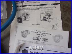 Garretson PROPANE CONVERSION KIT FOR Briggs Engine Dayton Generators Read More