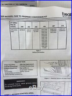 Heatilator Natural Gas to Propane Conversion Kit CKP