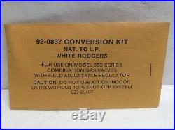 Honeywell Propane Conversion 1NP0343A, KIT 463-93195A000, Natural To Propane