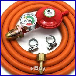 Igt Propane Gas Regulator & Gauge Conversion Kit For Most Weber Q & Lp Models