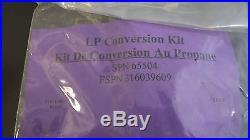 Kenmore Range Oven LP Liquid Propane Conversion Kit 80880910 316039609