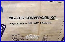 LPG CONVERSION KIT (PROPANE) for IDEAL LOGIC COMBI + 30P AAX & on. GAS VALVE ETC