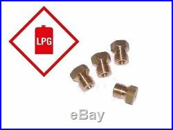 LPG Gas Jet Set 4 Burner Cooker Hob Calor Propane Nozzle Conversion Kit NEW