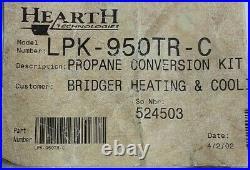 LPK-950TR-C Hearth Technologies Propane Conversation Kit