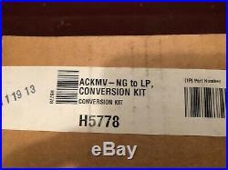 Lennox Superior H5778 ACKMV-NGLP Propane Conversion Kit