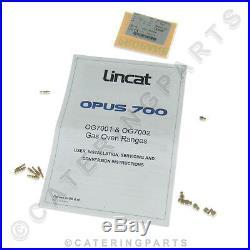 Lincat Gaz Conversion Kit Naturel Nat pour LPG Propane CKP31 Four Gamme OG7002