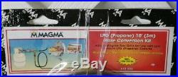 Magma LPG 10' Hose Conversion Kit Propane NEW