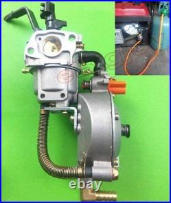 Methane CNG/Propane LPG Gas Conversion Kits for 2-5KW Petrol Gasoline Generators