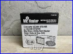 Mr. Heater F260163 Fuel Conversion Kit Natural Gas to Liquid Propane NEW