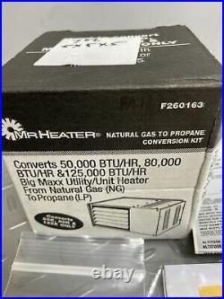 Mr Heater F260163 Natural Gas to Liquid Propane Fuel Conversion Kit Z-160