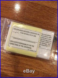 NEW LG Electronics AGM73069201 Gas Range LP Propane Conversion Kit