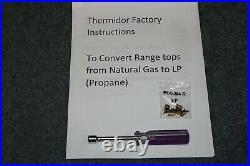 NEW Thermador SCG456 Rangetop LP (Propane) Conversion Orifice Kit PALPHITHC