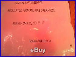 NIP Natural to Propane Gas Conversion Kit KGANP2801F80 Carrier