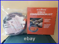 Natural Gas Conversion Kit Easy-Install Tool Set Blackstone Propane Griddle Gray