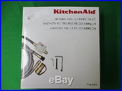 Natural Gas Conversion Kit Propane to Natural Gas Line for KitchenAid Grill