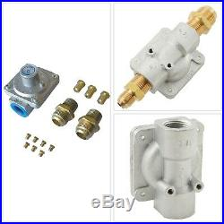 Natural Gas Conversion Kit Regulator Flared Fittings Propane Grill Accessory New
