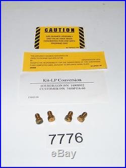 Natural Gas to L/P Liquid Propane Conversion Kit Sourdillon 14001012 7509P116-60