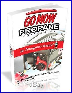 Not a Propane Conversion Kit But Plans for Preppers, Have a Generator Prepared