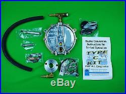 CONVERT TRI-FUEL PROPANE NATURAL GAS GENERATOR GENERAC GP3250 HONDA EB3000 GP EB
