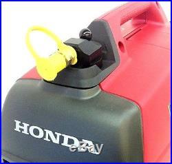 PROPANE conversion kit for Honda EU2000i complete with 6' reg. Hose for BBQ Tank