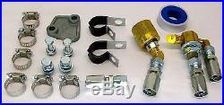 Partial Forklift Propane Lpg Conversion Kit Regulator Lockoff Hose Fittings Lp