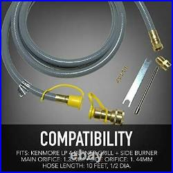 Permasteel PP-20400-CS-AM Propane to Natural Gas Conversion Kit for Kenmore 4