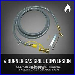 Permasteel PP-20400-SS-AM Propane to Natural Gas Conversion Kit for Kenmore 4
