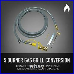Permasteel PP-20500-CS-AM Propane to Natural Gas Conversion Kit for Kenmore 5