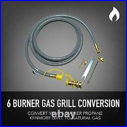 Permasteel PP-20600-CR-AM Propane to Natural Gas Conversion Kit for Kenmore 6