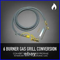 Permasteel PP-20600-CS-AM Propane to Natural Gas Conversion Kit for Kenmore 6