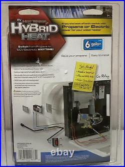 RV 6 Gallon Hot Water Heater Hybrid Conversion Kit Propane Electric Dual Heat